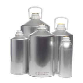Aluminium flasks and bottles