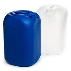 Plastic Square-Round Jerry Cans