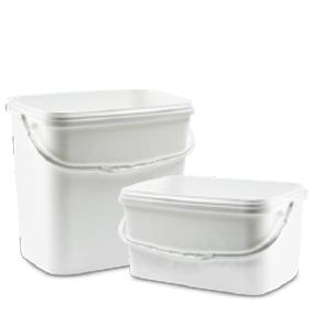Square Plastic Buckets