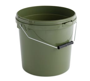 10 L Plastic Green Bucket with Wire Handle
