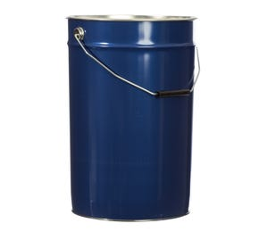 25 L Metal Blue UN Approved Bucket with Plain Interior