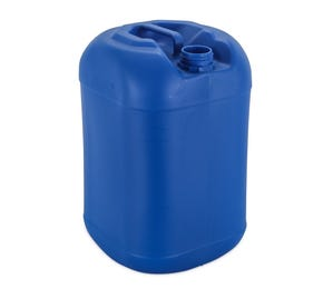 25 L Plastic Blue Square Round UN Approved Jerry Can