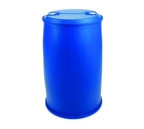 220 L Plastic Blue UN Approved Tighthead Drum Twin L Ring