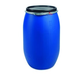 120 L Plastic Blue UN Approved Open Top Drum