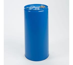 30 L Steel Blue Lacquered UN Approved Tighthead Drum with Bung