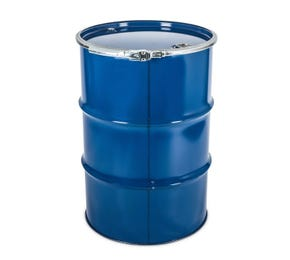 210 L Blue Steel Lacquered UN Approved Open Top Drum with Bung