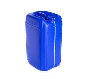 25 L Plastic Blue Fluorinated UN Approved Jerry Can