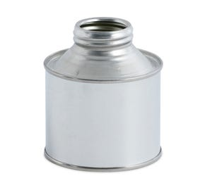 250 ML Tinplate Conical Tin with Plain Interior