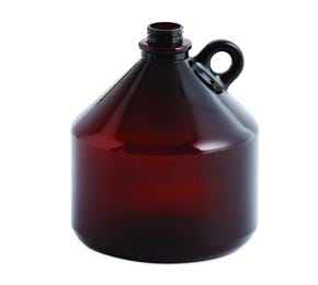 2.4 L Brown PVC Keg