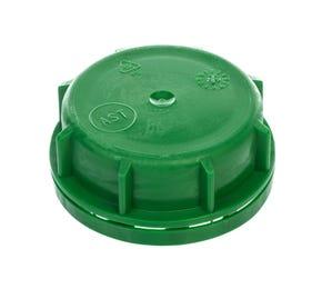 51mm Plastic Green Tamper Evident Cap