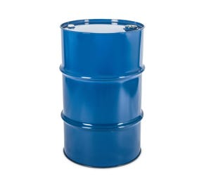 115 L Steel Blue Lacquered UN Approved Tighthead Drum with Bung