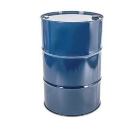 210 L Steel Blue Plain Tighthead Drum UN with 2inch & 3/4inch Bung